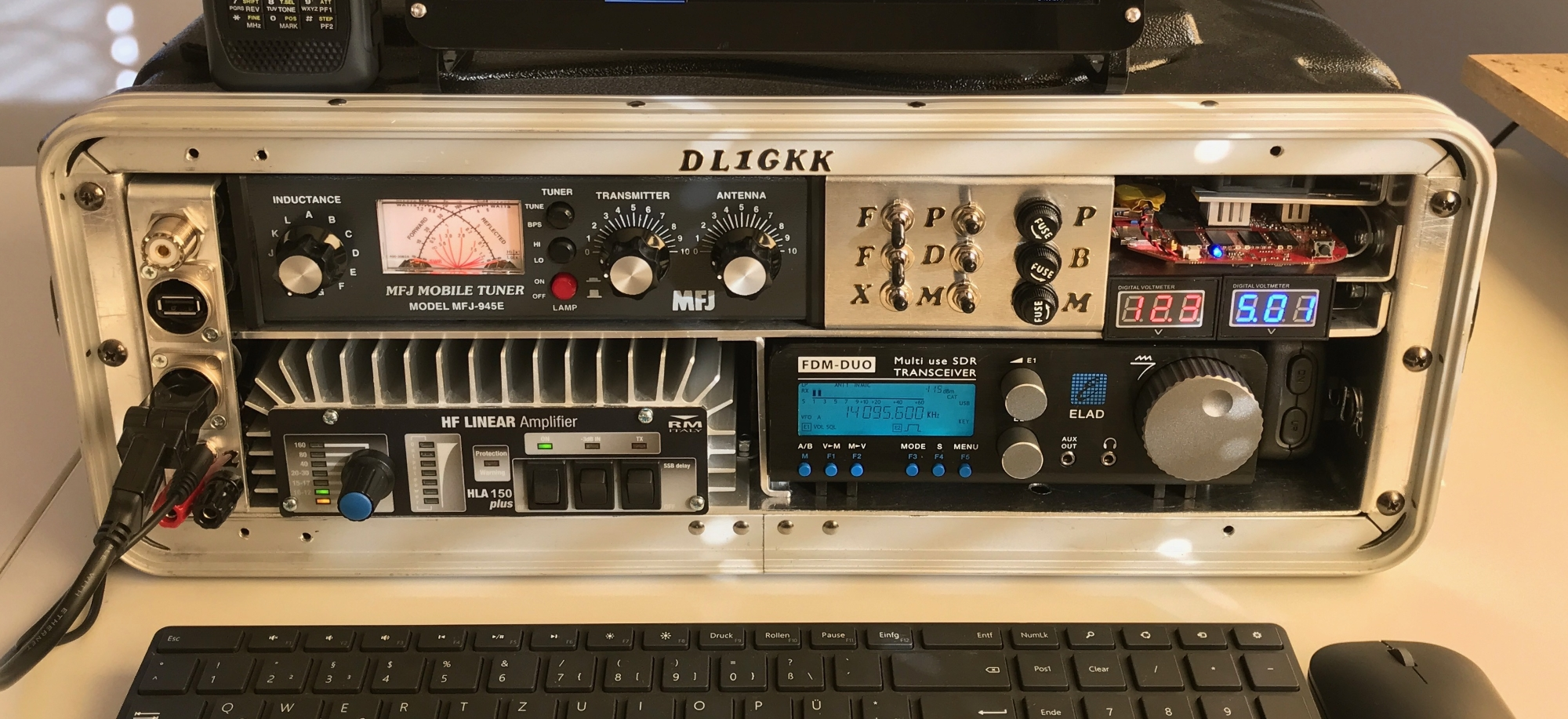 Amateur Radio Station Wb4omm: Portable Amateur Radio Station (go-box)