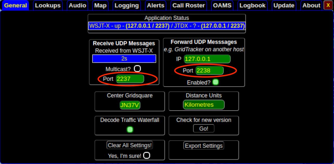 GridTracker Setup CQL