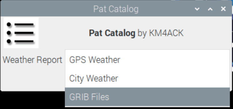 Pat Catalog Weather