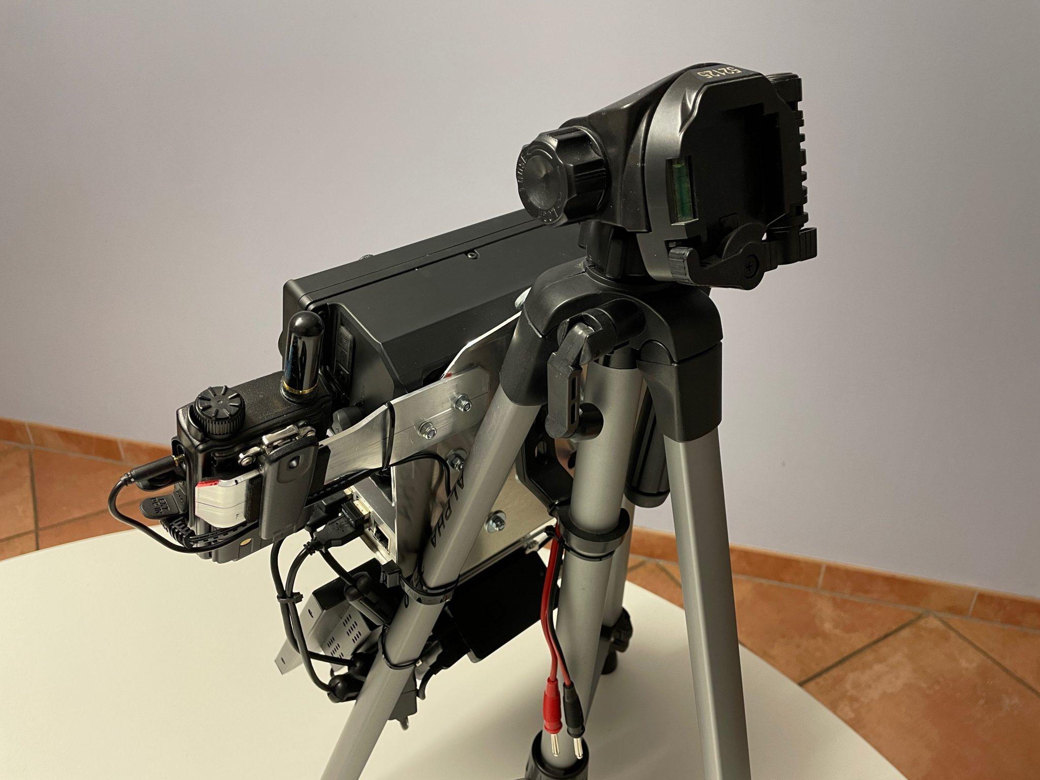 FT70D assembly backside
