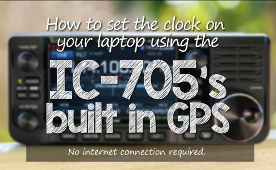 Setup IC-705 GPS